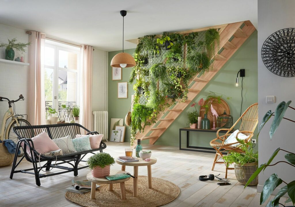 tendencia decoración 2021 Urban jungle